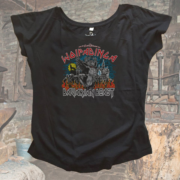Bavarian Beast Damen Fashion Shirt